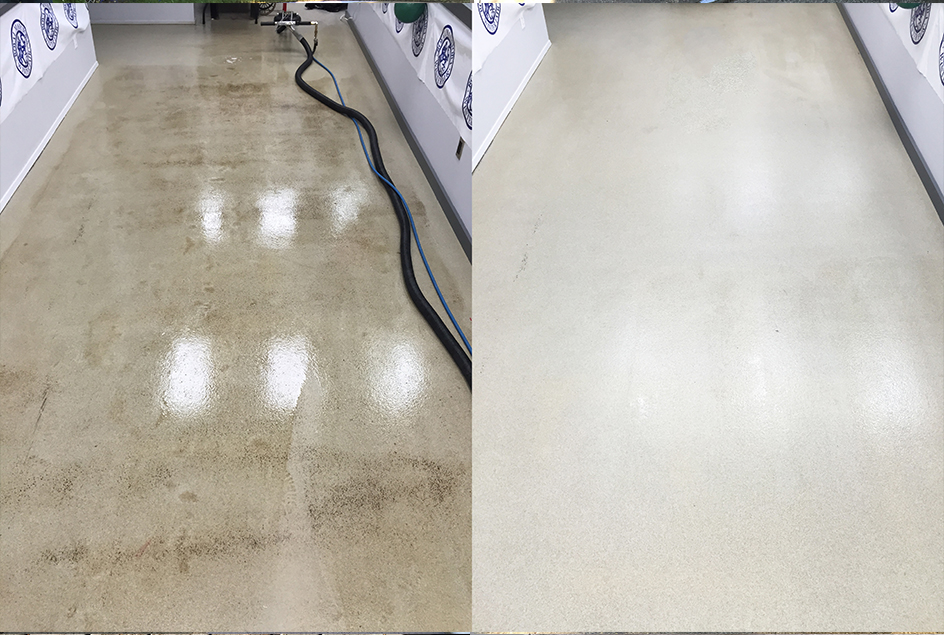 Image of concrete cleaning